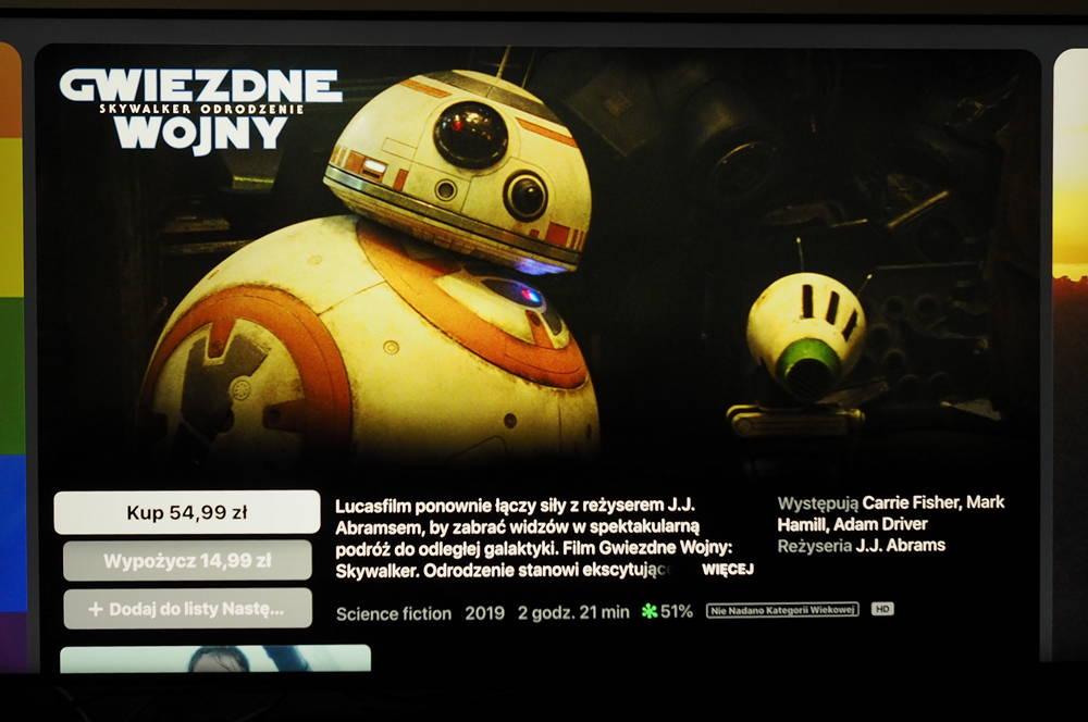 apple tv gwiezdne wojny skywalker odrodzenie