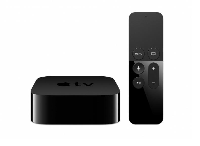 Apple TV przystawka i pilot