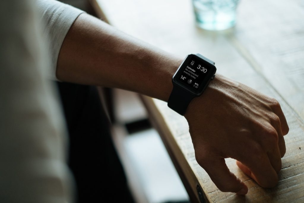 Apple Watch na ręce