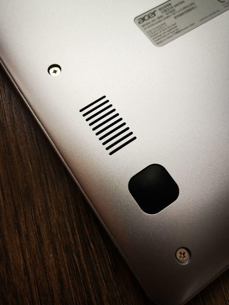 Acer Chromebook 314 głośnik