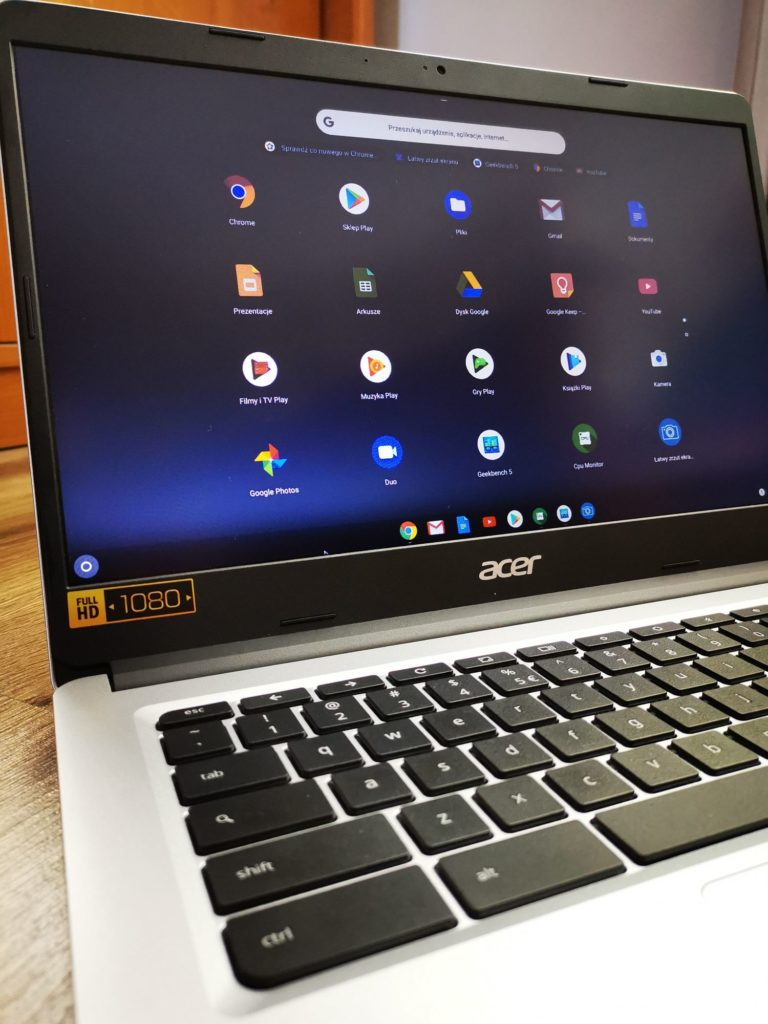 Pulpit systemu Chrome OS