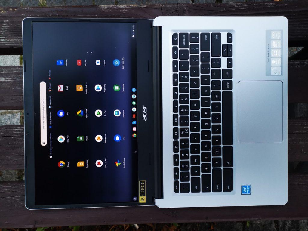 Acer Chromebook 314 ekran LED