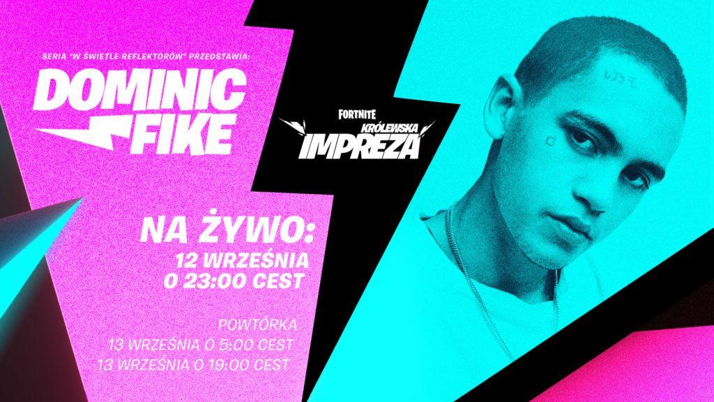 Dominik Fike koncert w Fortnite