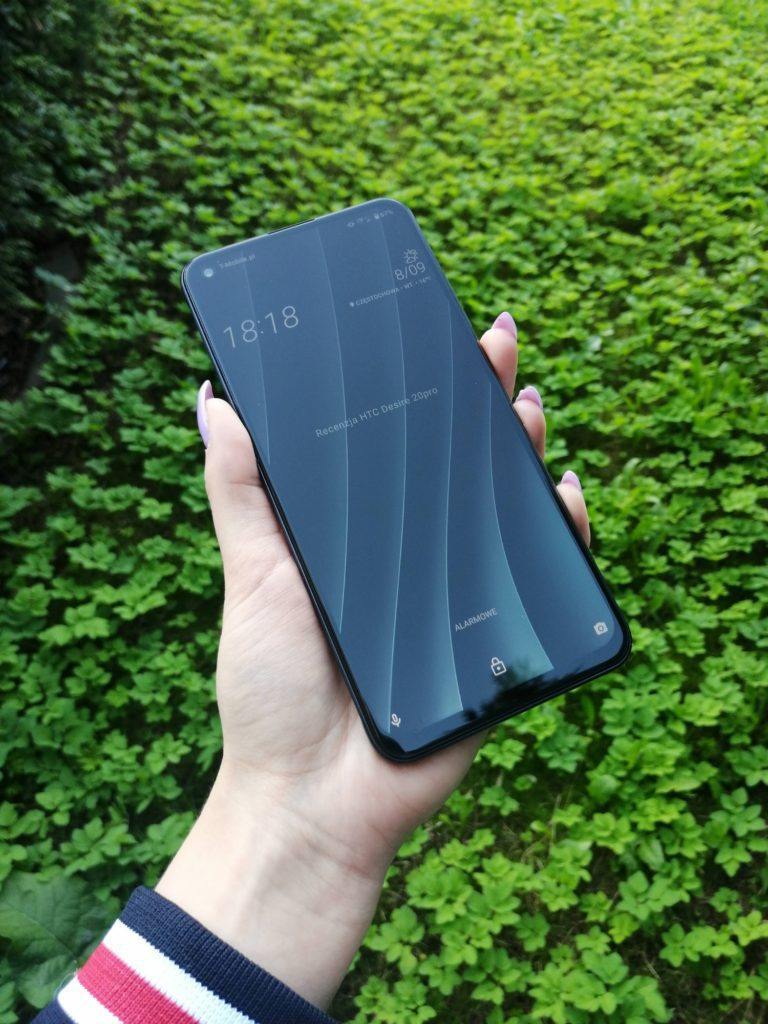 ekran blokady HTC Desire 20 pro