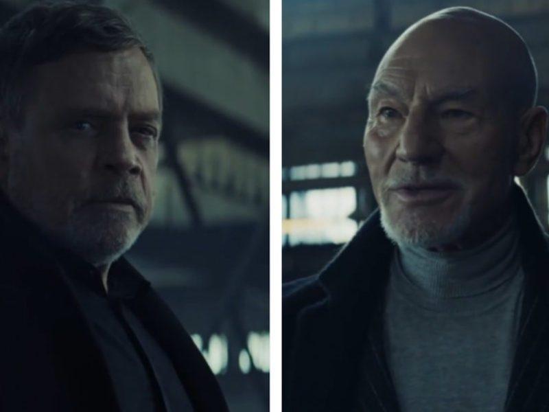 Kiedy Skywalker spotkał Picarda. Ulubieńcy fandomów w reklamach Uber Eats