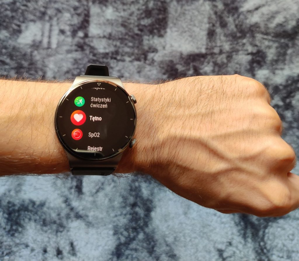 Huawei Watch GT 2 Pro menu