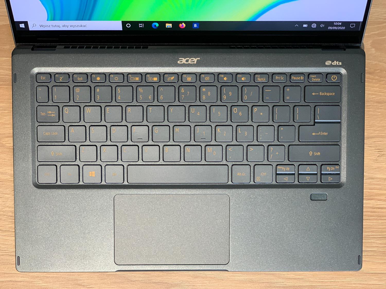 klawiatura i touchpad acer swift 5
