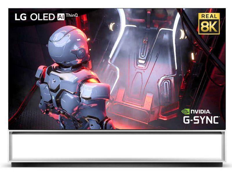 IFA 2020: LG + Nvidia = granie w 8K