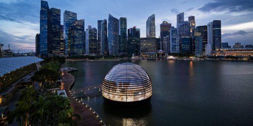 Apple otwiera w Singapurze swój pierwszy pływający sklep