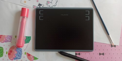 Recenzja Huion H430P – pierwszy raz z tabletem graficznym