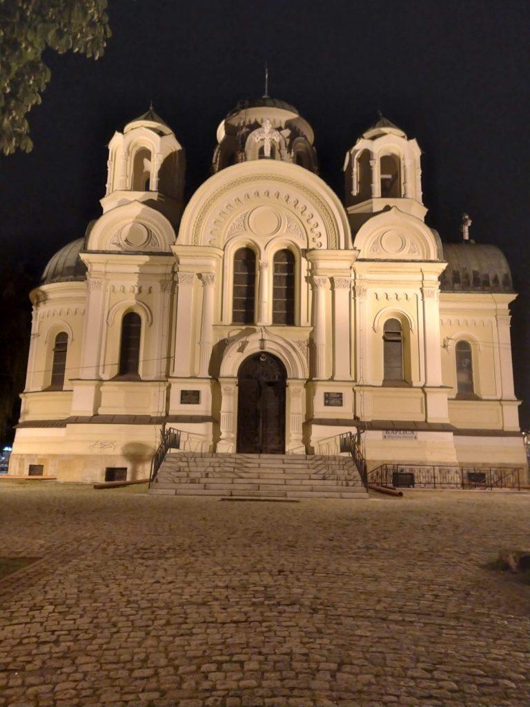 kościół zdjecie standard noc htc desire 20 pro
