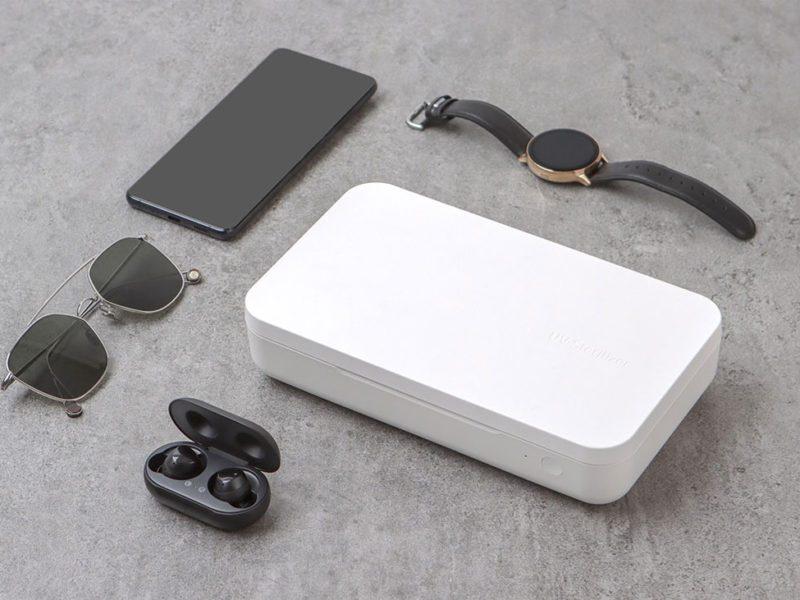 Sterylizator UV z ładowarką indukcyjną od Samsunga łączy pożyteczne z… pożytecznym