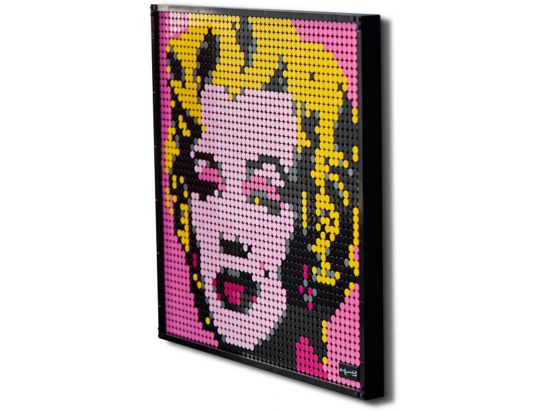 LEGO Art Marilyn Monroe Andy'ego Warhola