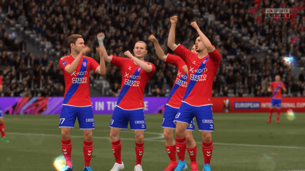FIFA 21 cieszynki