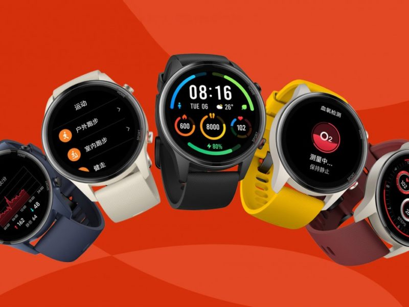 Xiaomi Mi Watch Color Sports Edition oficjalnie. Jest sportowo i kolorowo