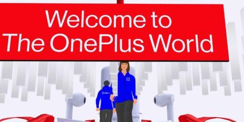 Premiera OnePlus 8T w wirtualnym świecie. Już można po nim spacerować