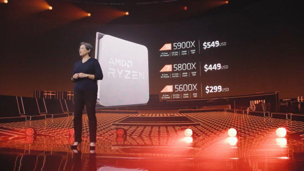 Seria Ryzen 5000 ceny procesorów