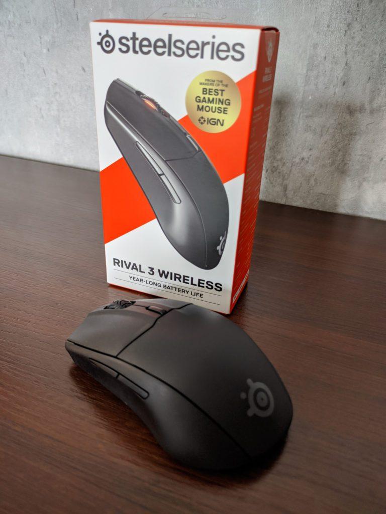SteelSeries Rival 3 Wireless opakowanie