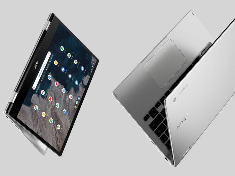 Acer zaprezentował Chromebook Spin 513 ze Snapdragonem 7c