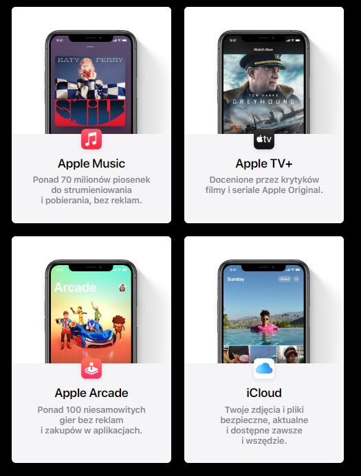 Apple One serwisy