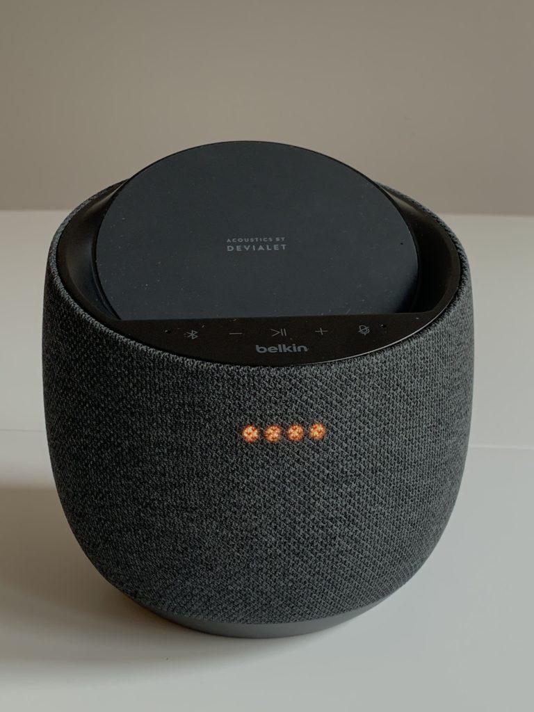Belkin SoundForm Elite wyciszenie mikrofonu
