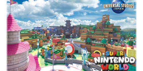 Super Nintendo World zostanie otwarty w 2021 roku