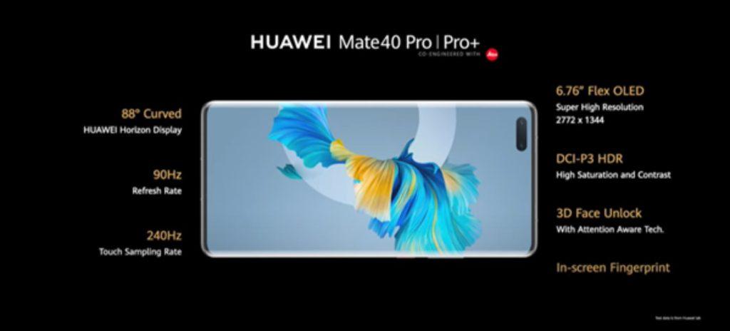 ekran huawei mate 40 pro i pro+