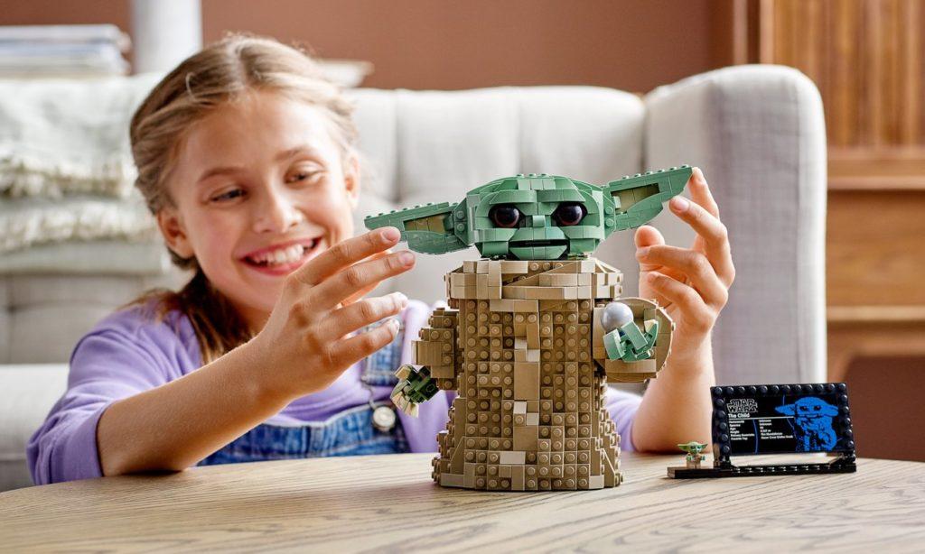 LEGO Star Wars 75318 Dziecko Baby Yoda