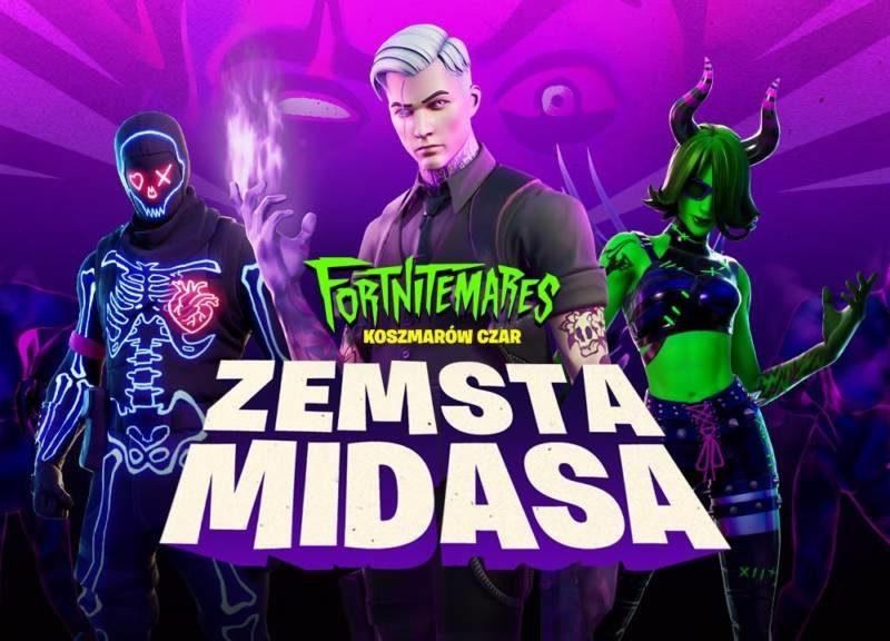 Koszmarów Czar: Zemsta Midasa. Halloween w Fortnite