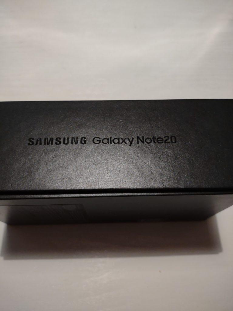 galaxy note 20 pudełko bok