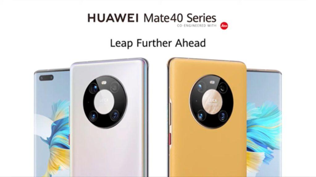 huawei mate 40 series design