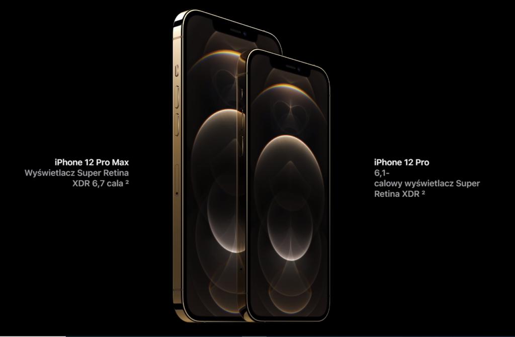 iPhone 12 Pro- wyświetlacze