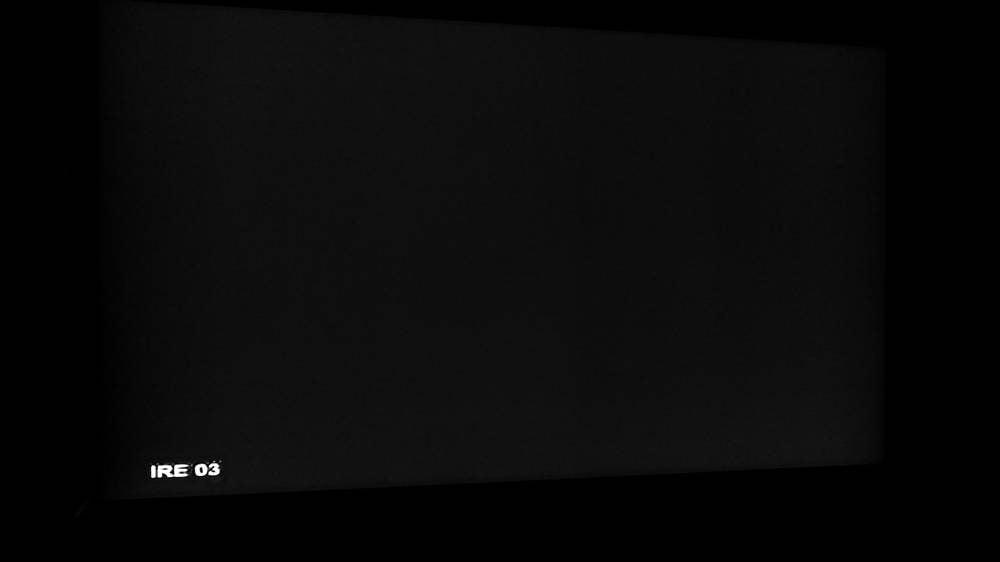 sprawdzanie ekranu telewizora OLED