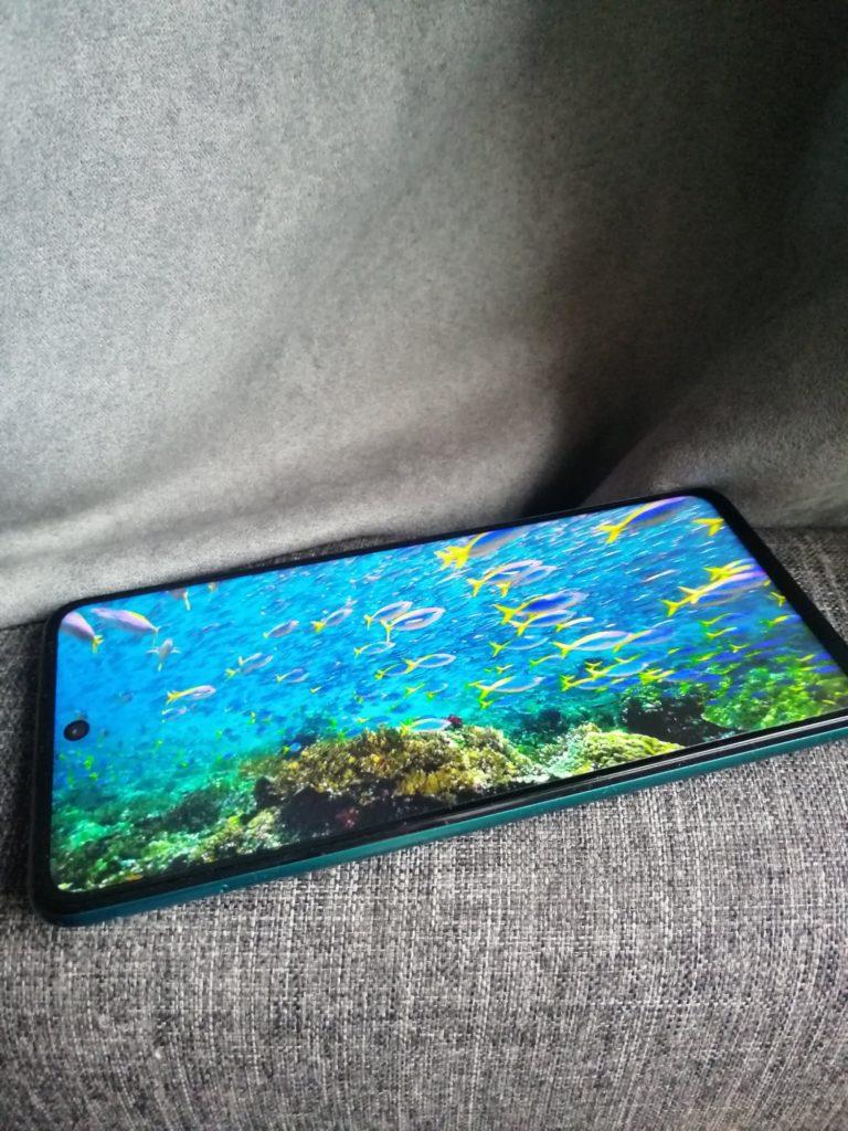 kolor wyświetlacz huawei p smart 2021