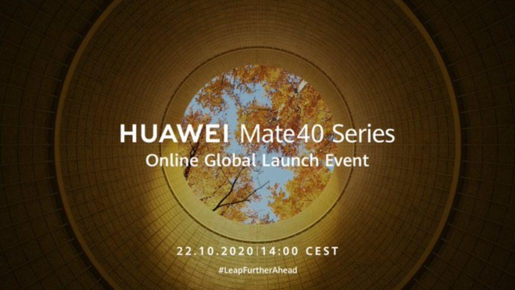 zapowiedź konferencji Huawei Mate 40 Series