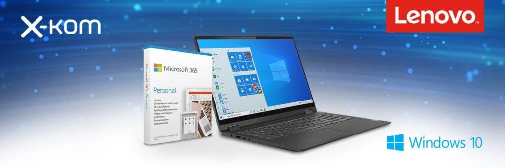 Laptopy Lenovo Microsoft 365 personal