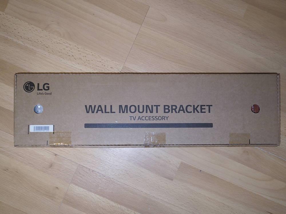 pudełko z wieszakiem do telewizora LG OLED55GX