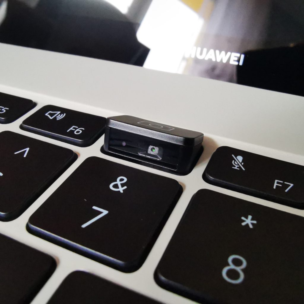 MateBook X 2020 kamera