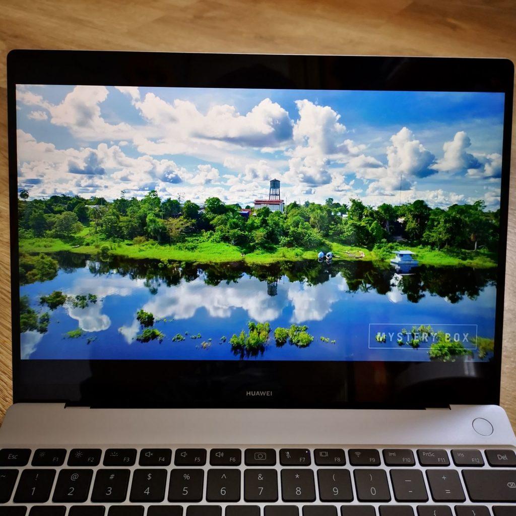MateBook X 2020 wyświetlacz 3K