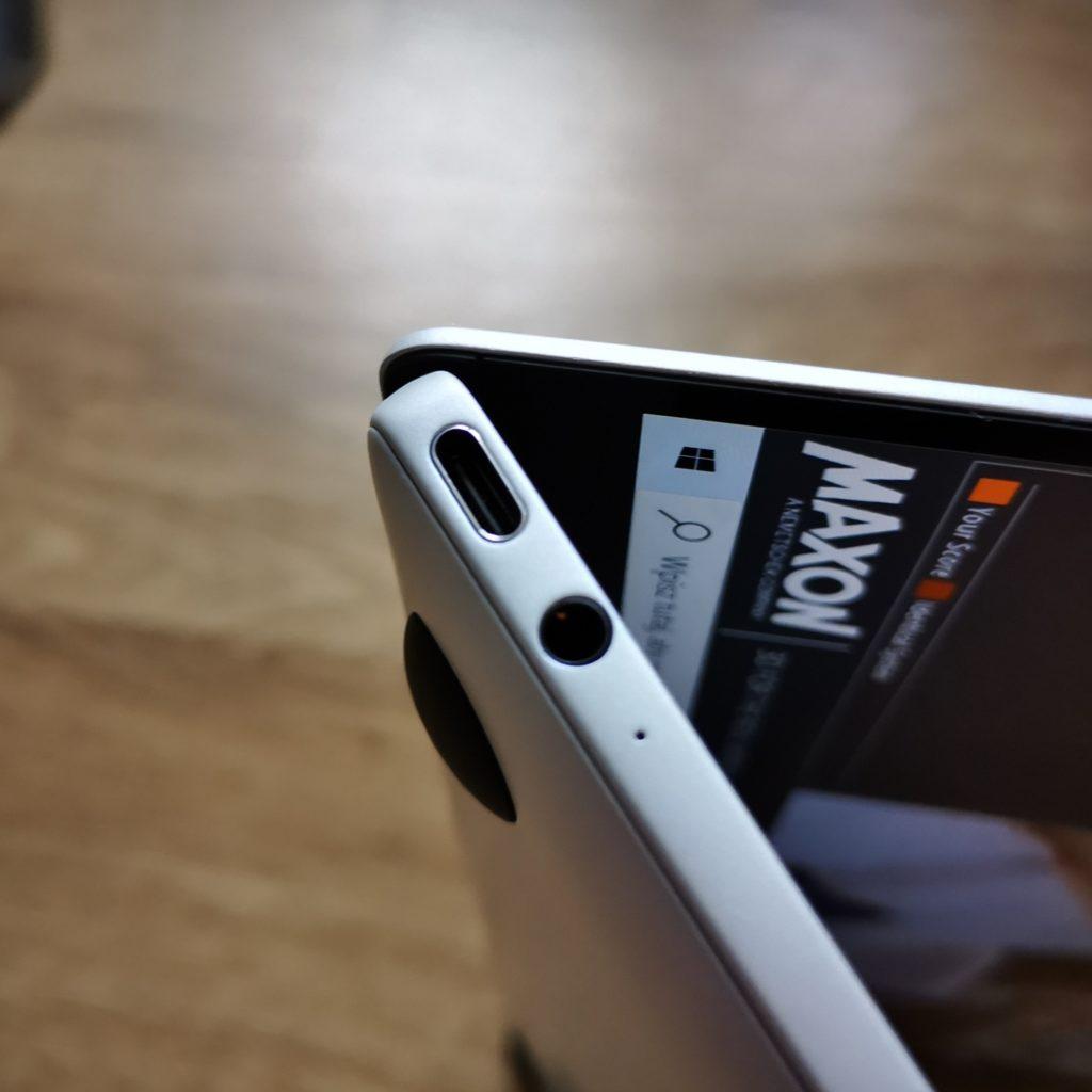 MateBook X 2020 porty USB-C i audio