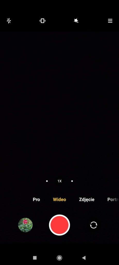 menu wideo poco x3 nfc