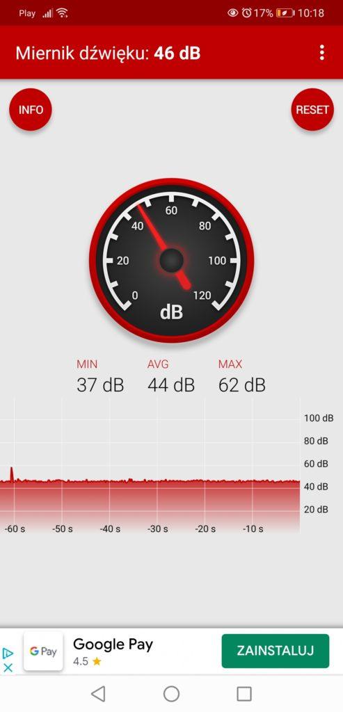 Miernik dźwięku MSI GL75
