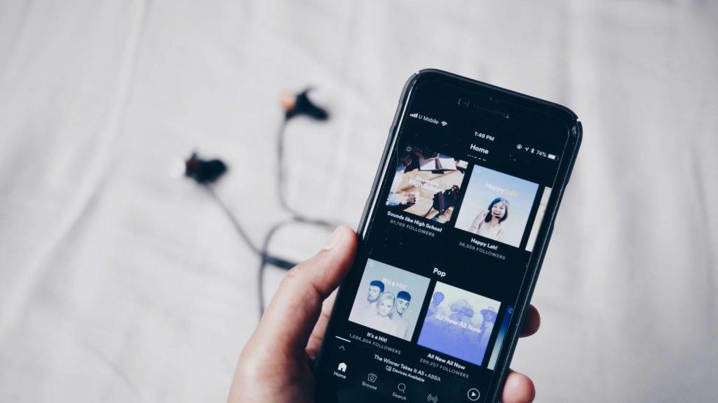 muzyka ze Spotify