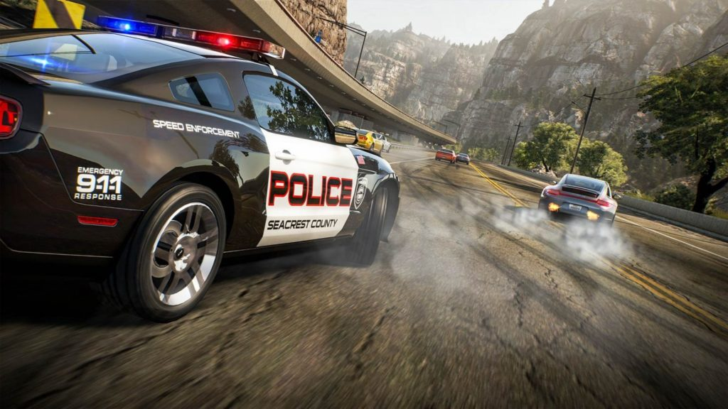 Need For Speed: Hot Pursuit policja