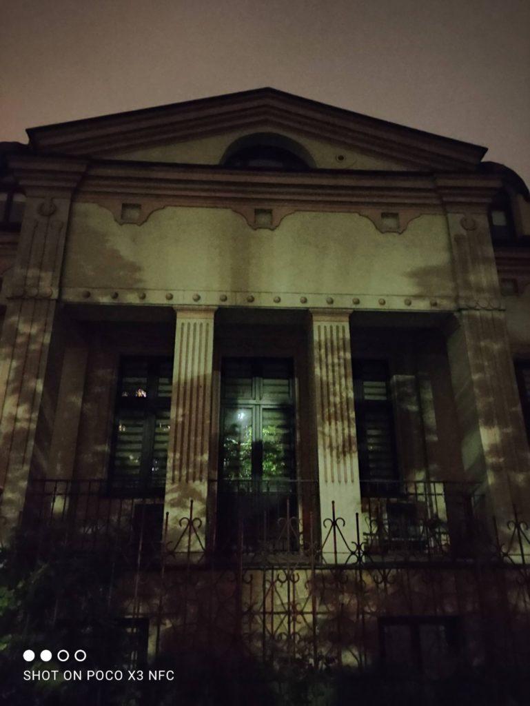 budynek tryb noc poco x3 nfc