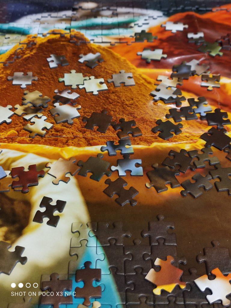 puzzle tryb 64 Mpix poco x3 nfc