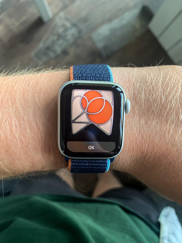 odznaka apple watch