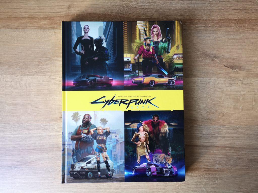Cyberpunk 2077 oficjalna książka o świecie gry zdjęcie okładki