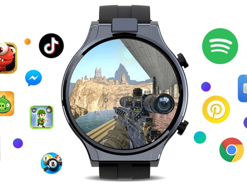 Poznajcie Kospet Prime 2. Smartwatch z baterią 1600 mAh i obrotową kamerą