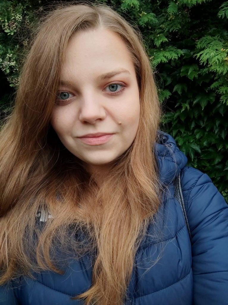 selfie standardowe przednim aparatem poco x3 nfc